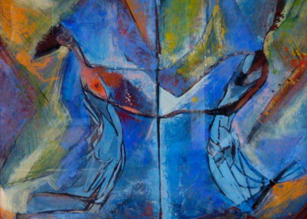 Maypole/Couple Dancing in Blue